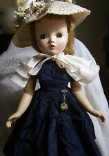 "Madame Alexander Vintage 22"" Cissy Doll 1957 Very good"