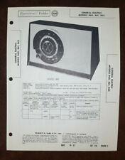 Set 374 Folder 5 Sams Photofact Rare Vintage General Electric GE