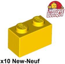 2x cylinder cylindre 1x5 1//2 handle verin lance jaune//yellow 87617 NEUF Lego