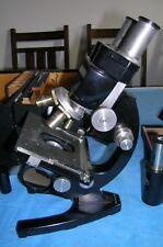 Binocular/Monocular Carl Zeiss Microscope in the original box w/key