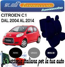 COPRISEDILE COPRISEDILI FODERA AUTO SU MISURA CITROEN C1 GRIGIO 2006