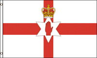 NORTHERN IRELAND FLAG 3 x 5 ' FLAG - NEW 3X5 INDOOR OUTDOOR COUNTRY FLAG