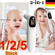 DE 2-in-1 Ohr und Stirnthermometer Kontaktlos Digital Infrarot Thermometer Baby