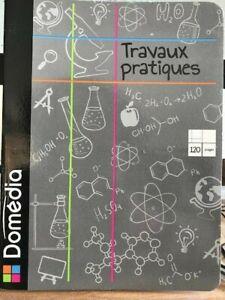 Domedia Cahier Tp TRAVAUX PRATIQUES 70g/m2 -17X22 cm - 120 PAGES - SEYES -DESSIN
