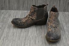 Billabong Sweet Surrender Ankle Boot, Women's Size 8.5, Cheetah