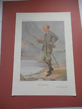 VANITY FAIR PRINT FISHING THE POSTMASTER GENERAL SYDNEY BUXTON FLY FISHING