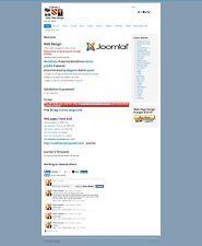 Web Site Design 30 +  pages plus wordpress ecommerce PHPBB Joomla