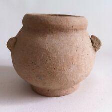 Bronze Age Northeast Thai Pot with 3 lug handles