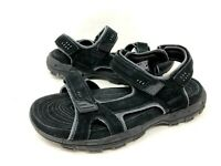NEW! Skechers Men's Relaxed Fit Conner Alec Sport Sandals Black #64640 h18a a