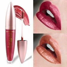 Metallic Liquid Lipstick Shimmer Matte Pink Sexy Red Lips Long Lasting Make Up