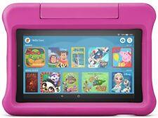 """Fire 7 Kids Tablet para niños de 3-7 pantalla de 7"""" 16 GB Paquete de Estuche Rosa a prueba de niño"""
