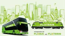 Flixbus free travel voucher Europe & Spain until 5.8.2021 (Direct trip only).