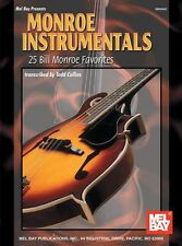 MEL BAY MONROE INSTRUMENTALS FIDDLE Learn to Play BLUEGRASS Violin Music Book