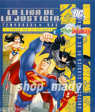 Justice League Season Two - Blu-Ray ENGLISH LANGUAGE, Subtitled in Spanish New!