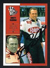 Brett Bodine #3 signed autograph auto 2002 Press Pass NASCAR Trading Card