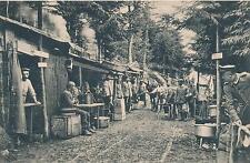 AK, Gruss provenant des vosges, bombes sécurisée abris, 1916, (g)