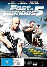 FAST and FURIOUS 5 : NEW DVD