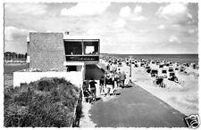 """AK, Ostseebad Dahme, Strandpromenade mit Gaststätte """"Tribühne"""", um 1960"""