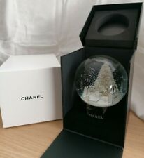 Chanel Xmas Tree Snow Globe Rare VIP GIFT. SHIPPING TO ANYWHERE IN THE WORLD
