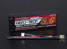 RC Turnigy nano-tech 5600mah 2S2P 50~100C Hardcase Lipo Pack (ROAR APPROVED)