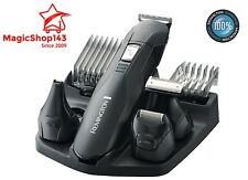 Beard Hair Clipper Trimmer Cutter Cordless Men Electric Kit Shaver Heads Barber