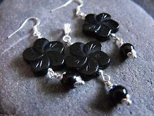 Unisex Silver Gothic Earrings