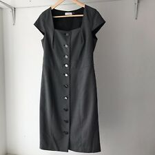 Calvin Klein Vintage Style Button Front Career Dress, Size 10