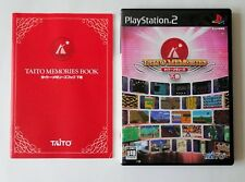 TAITO MEMORIES VOL.2 Gekan [ 25 Taito Arcade Hits ] Sony PlayStation 2 Japan