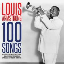 Louis Armstrong 100 Songs CD Box set Hello Dolly Mack The Knife Jeepers Creeper