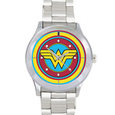 Wonder Woman Princess of The Amazons Warrior Stainless Steel Watch Style 3