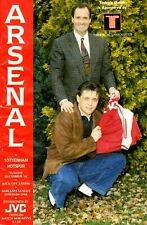 Arsenal v Tottenham Hotspur programme, Division 1, December 1991