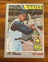 1970 Topps #166 Al Oliver JR - Pirates