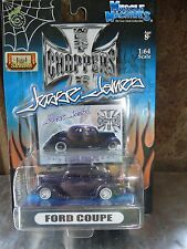 Muscle Machines Jesse James Ford Coupe Slammed WCC 1:64 Scale Diecast 2004 Car