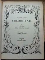 A. MANZONI-I PROMESSI SPOSI ILLUSTRATI DA GIORGIO DE CHIRICO 1964-L2884