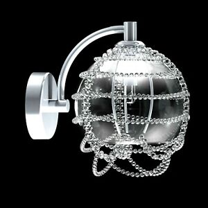 Wall Light 1 Light Modern Crystal Of Bohemia Lampshade for Interior