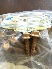Two! (2) New OEM Johnson Evinrude OMC 3853651 03853651 Manifold SCREWS