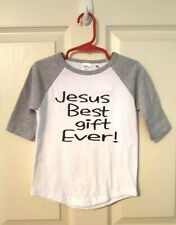 Jesus Best Gift Ever Toddler Size 3T  T-shirt
