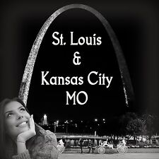 100 Digital Photo of St.Louis Kansas City Missouri Skyline Gateway Arch Downtown