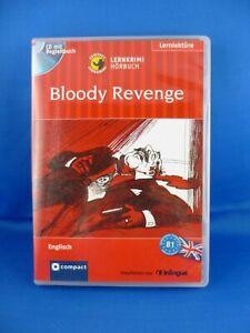 Lernkrimi Hörbuch: Bloody Revenge / CD mit Begleitbuch/ mittleres Sprachniveau