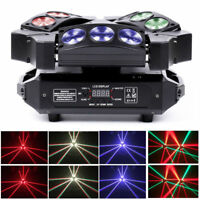 240W 9LED RGBW DMX512 Spider Stage Lighting Moving Head Party Light DJ Disco USA
