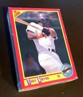 50) TONY GWYNN San Diego Padres 1990 Score Baseball Card #255 LOT
