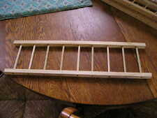 """A PAIR OF ALL WOOD LADDERS 5"""" WIDE X 18"""" LONG FOR PEDAL FIRE TOY TRUCKS"""