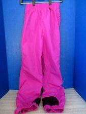 COLUMBIA~Pink SKI PANTS / SNOWBOARD SNOW PANTS~Youth Girls Size Large
