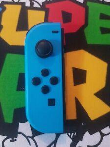 👀Genuine Nintendo Switch Joy Con Left (Minus) Official Neon Blue EXCELLENT 👀