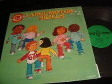 SING & LEARN<>LARGE MOTOR SKILL<>LP Vinyl~USA Pressing<>MAC MILLAN PROGRAM