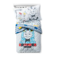Thomas the Tank & Friends 4 Pc Microfiber Toddler Bed Set