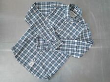 Abercrombie & Fitch mens cotton long sleeve check shirt size S