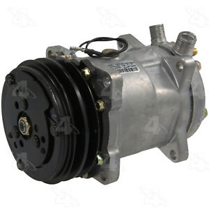 A/C  Compressor And Clutch- New   Four Seasons   58551