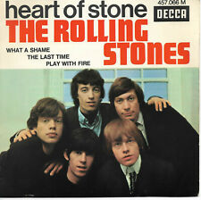"""THE ROLLING STONES Heart Of Stone 7"""" EP 1965 Pop Rock Beat"""