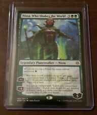 Nissa, Who Shakes the World War Of The Spark Mint MTG